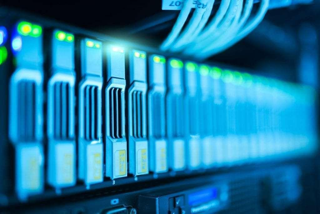 hosting domein computers database infrastructuur