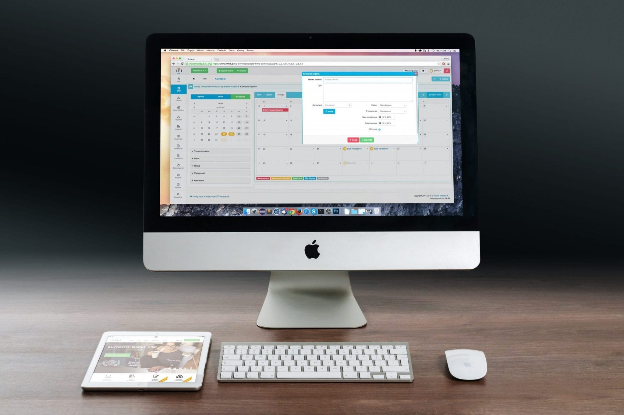 srs software requirements specification laptop mac ui mockup mock-up voorbeeld website srs